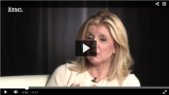 Arianna Huffington über Selbständigkeit, Frauen & Erfolg